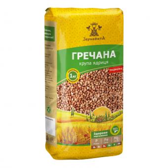 Крупа Зерновита гречана ядриця, 1 кг