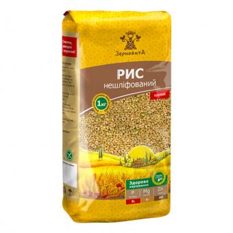 Рис Зерновита нешліфований, 1 кг